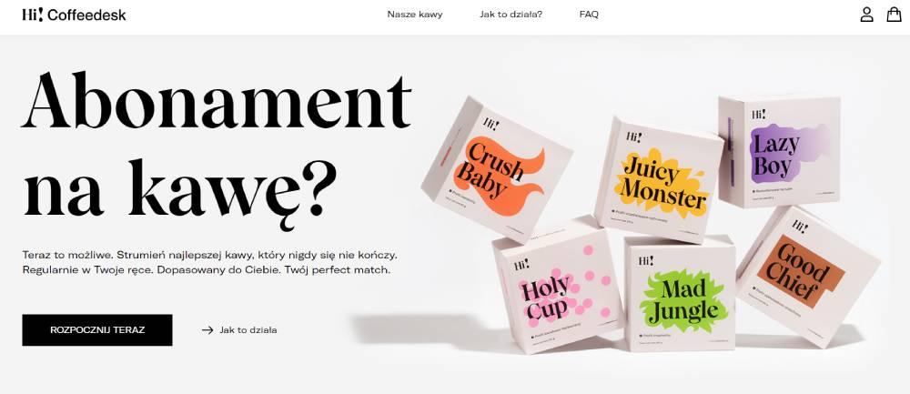 branża kawowa w e-commerce