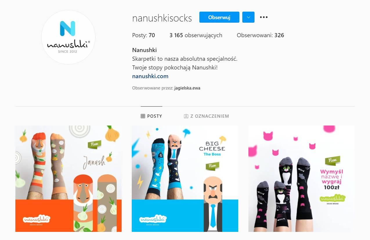 Nanushki _ skarpetki_ecommerce