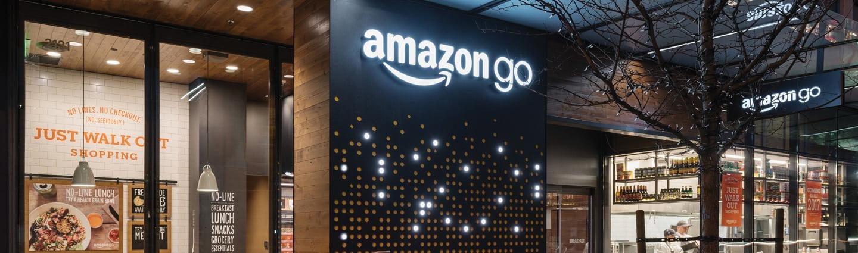 Bezobsługowy sklep Amazon